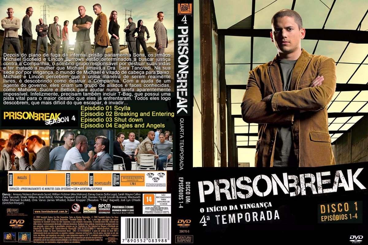 Prison Break Las 4 Temporadas Completas Dvds!!! - $ 800,00 en ...