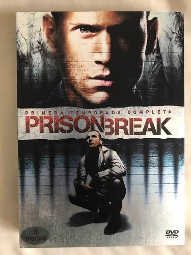 prison break, primera temporada (6 discos dvd)