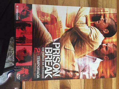 prison break série 2a temporada dvd tv vida na prisao