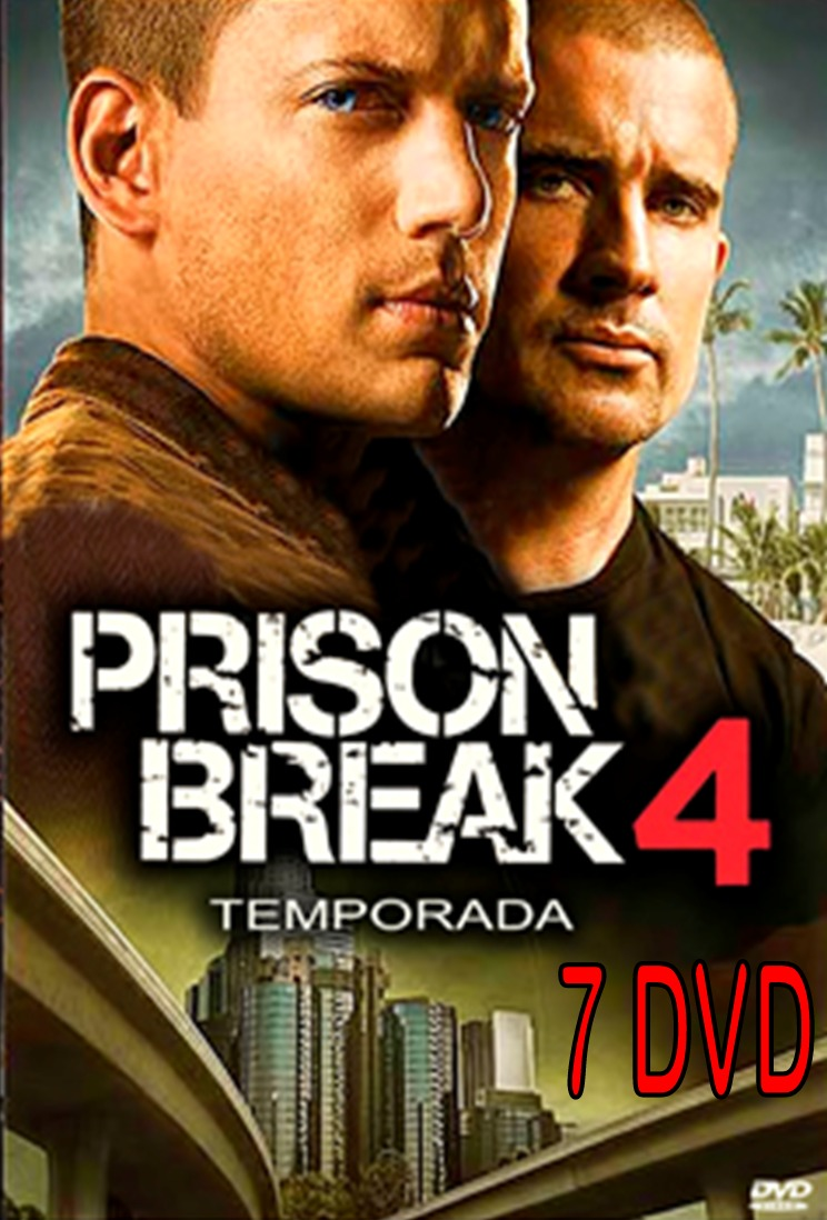 Prison Break Temporada 4 Completa Formato Original - Bs. 140.072,80 ...