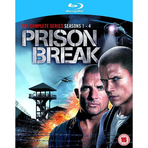 prison break temporadas 1 - 4 + the final break blu-ray