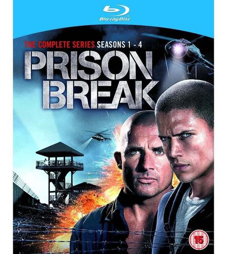 prison break temporadas 1 - 4 + the final break blu-ray