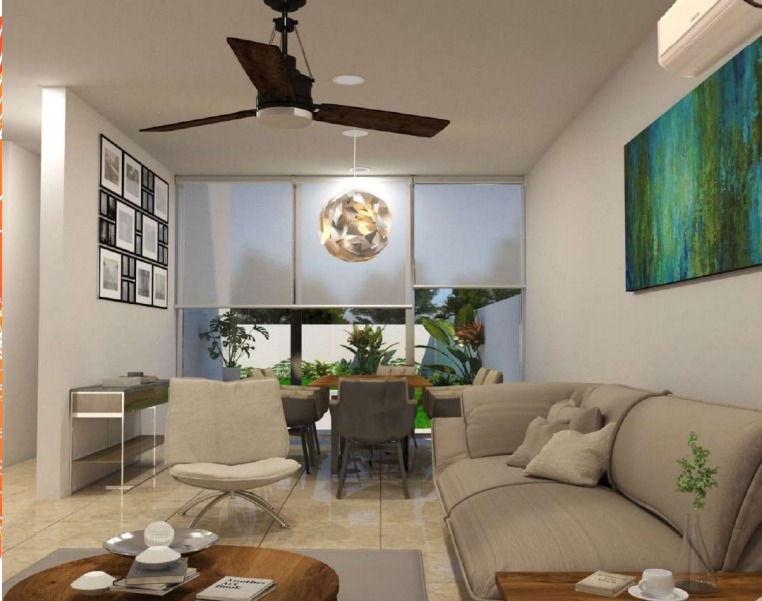 privada avenida conkal, casa en venta de dos plantas