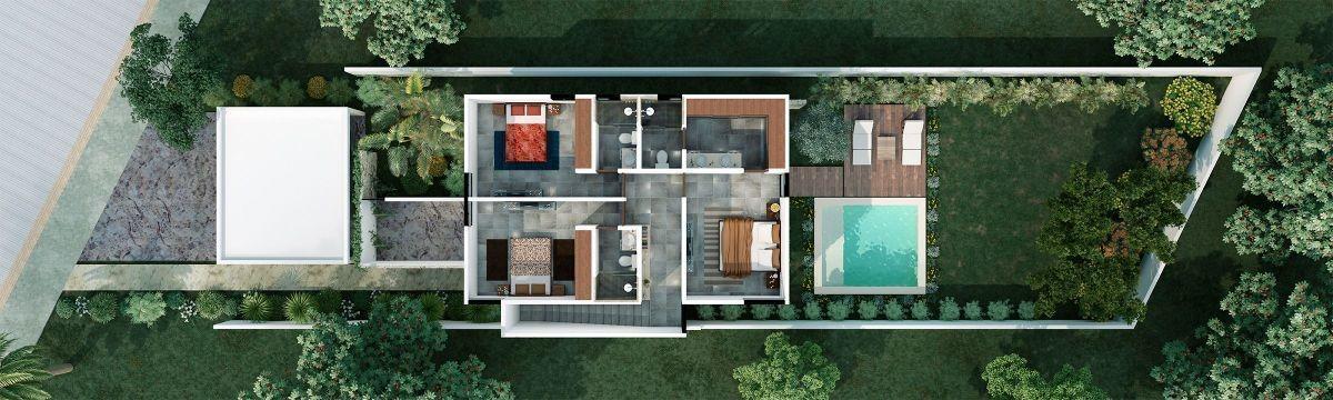 privada residencial aleza (modelo 200)