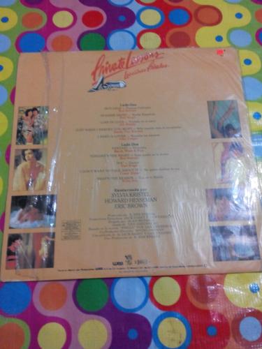 private lessons lp musica original de la película 1981.