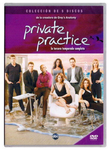 private practice tercera temporada 3 tres dvd