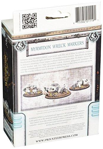 privateer prensa ret myrmidon wreck markers model kit