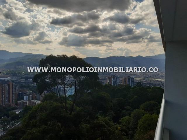 privilegiado apartaestudio renta poblado cod17179