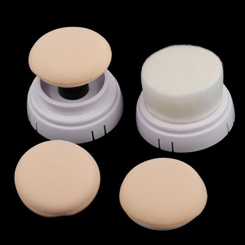 pro 4 en 1 súper suave eléctrico facial limpiadora cepillo