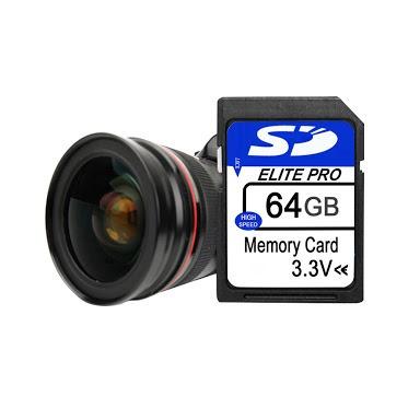 pro 64gb câmera cartão memória