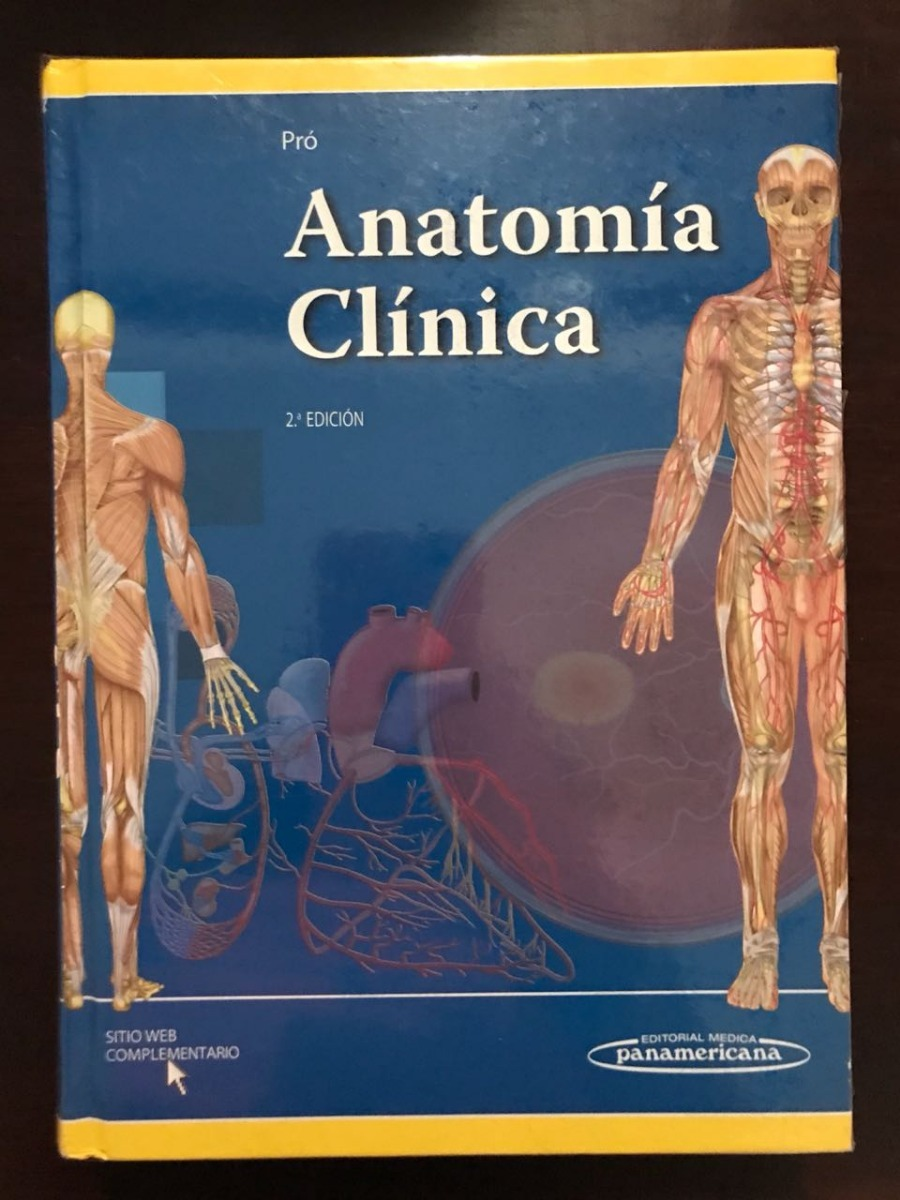Pró Anatomía Clínica - $ 975.00 en Mercado Libre