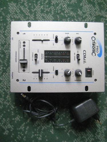 pro audio citronic para dj