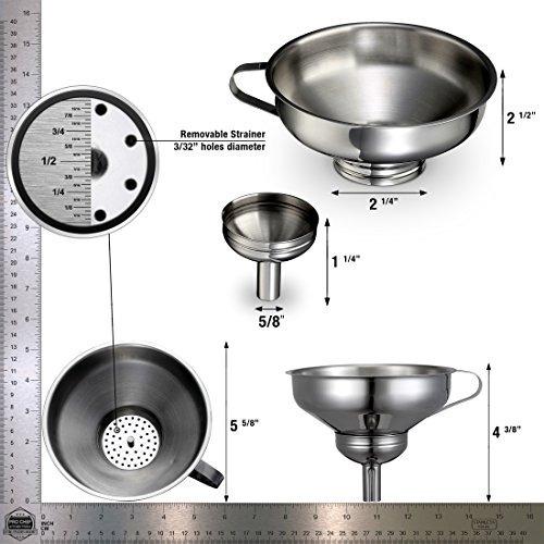 pro chef herramientas de cocina de acero inoxidable de meta