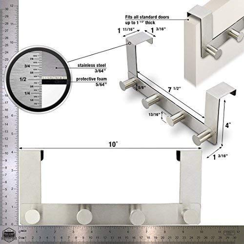 pro chef kitchen tools sobre el gancho de la puerta - 4...