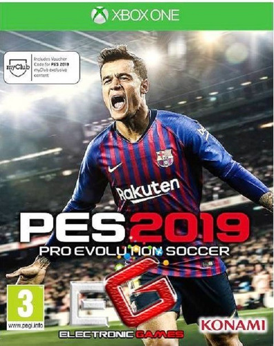 pro evolution 2019 xbox one digital * juga online