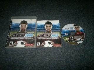 pro evolution soccer 2008 completo para play station 3