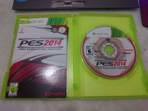 pro evolution soccer 2014 pes xbox 360