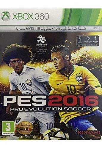pro evolution soccer 2016 - edición estándar de xbox 360