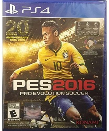 pro evolution soccer 2016 - playstation 4 standard editio