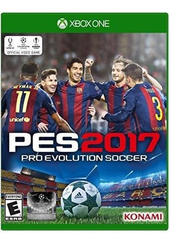 pro evolution soccer 2017 - edición estándar de xbox one