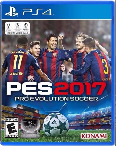 pro evolution soccer 2017 pes 2017 playstation 4 nuevo!