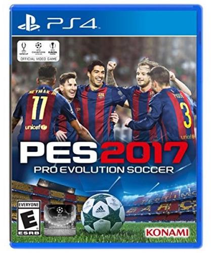 pro evolution soccer 2017 - playstation 4 standard editio