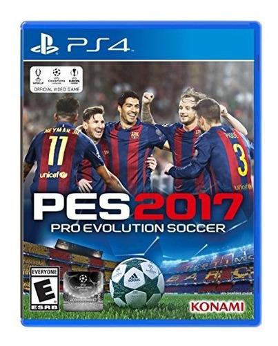 pro evolution soccer 2017 playstation 4 standard edition