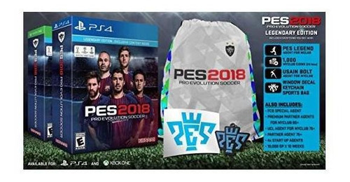 pro evolution soccer 2018: edición legendaria - playstation