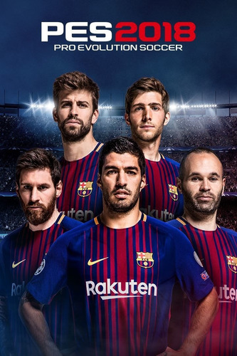 pro evolution soccer 2018 pes18 ps4 fisico