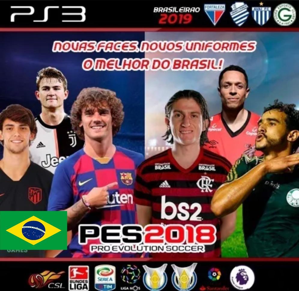 Pro Evolution Soccer 2018 Ps3 Psn+ Atualizacao Agosto 2019