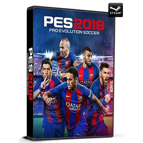 pro evolution soccer 2018 standard edition cd key steam
