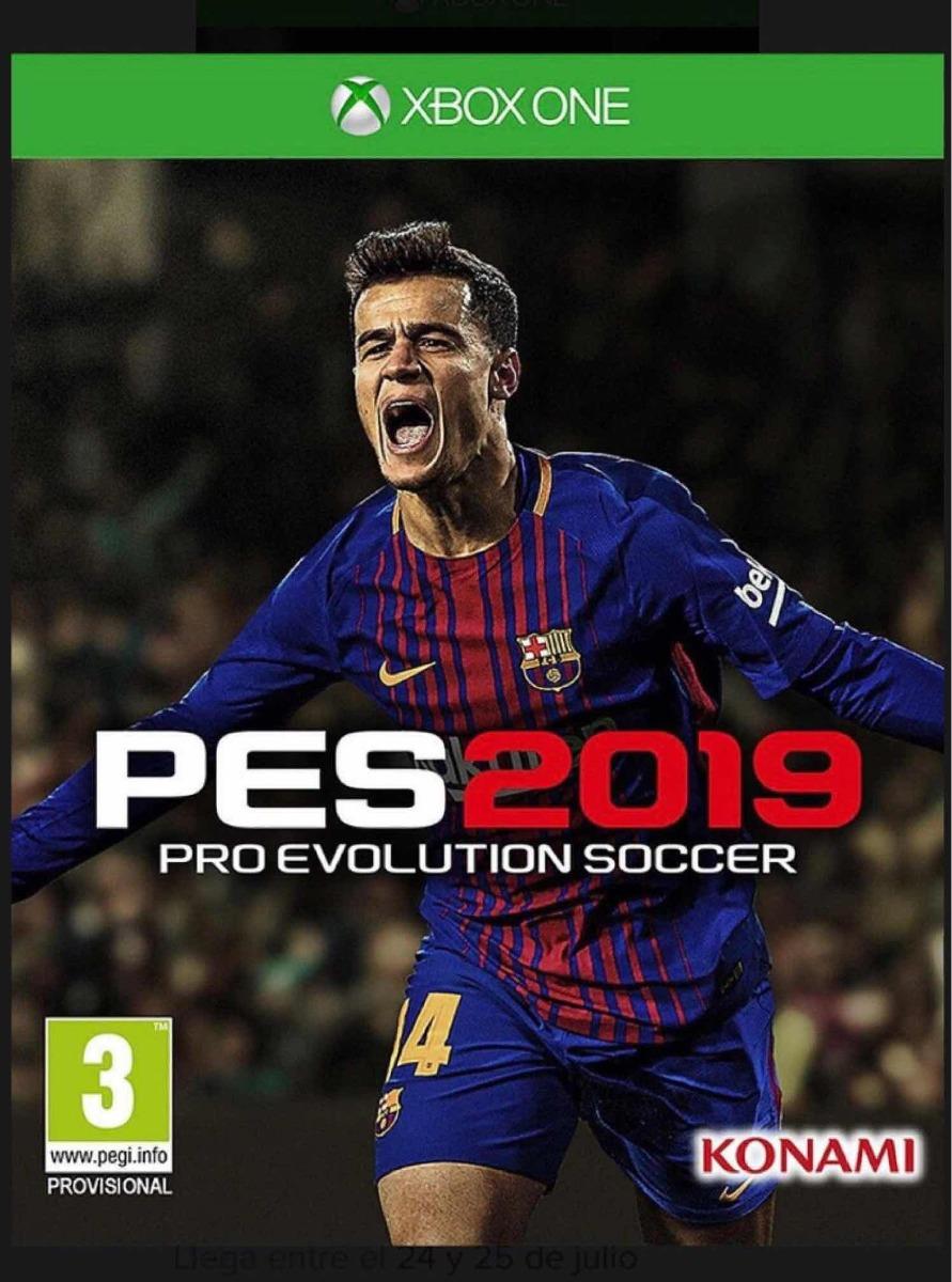 Pro Evolution Soccer 2019 Juego Original Completo Xbox One