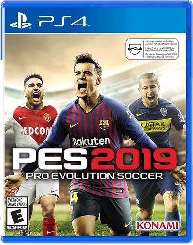 pro evolution soccer 2019 pes 19 fisico sellado ps4