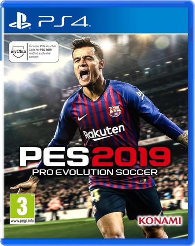 pro evolution soccer 2019 - pes 2019 - ya disponible