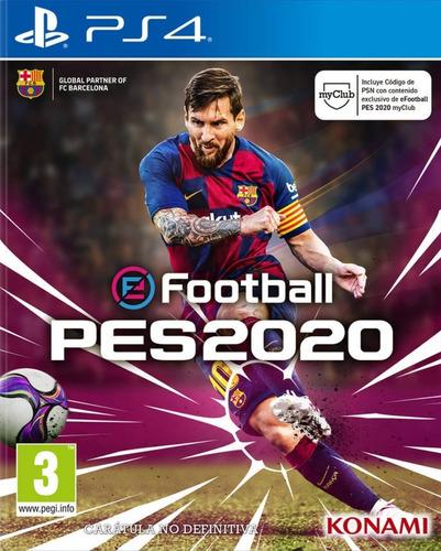 pro evolution soccer 2020 pes 2020 ps4 principal