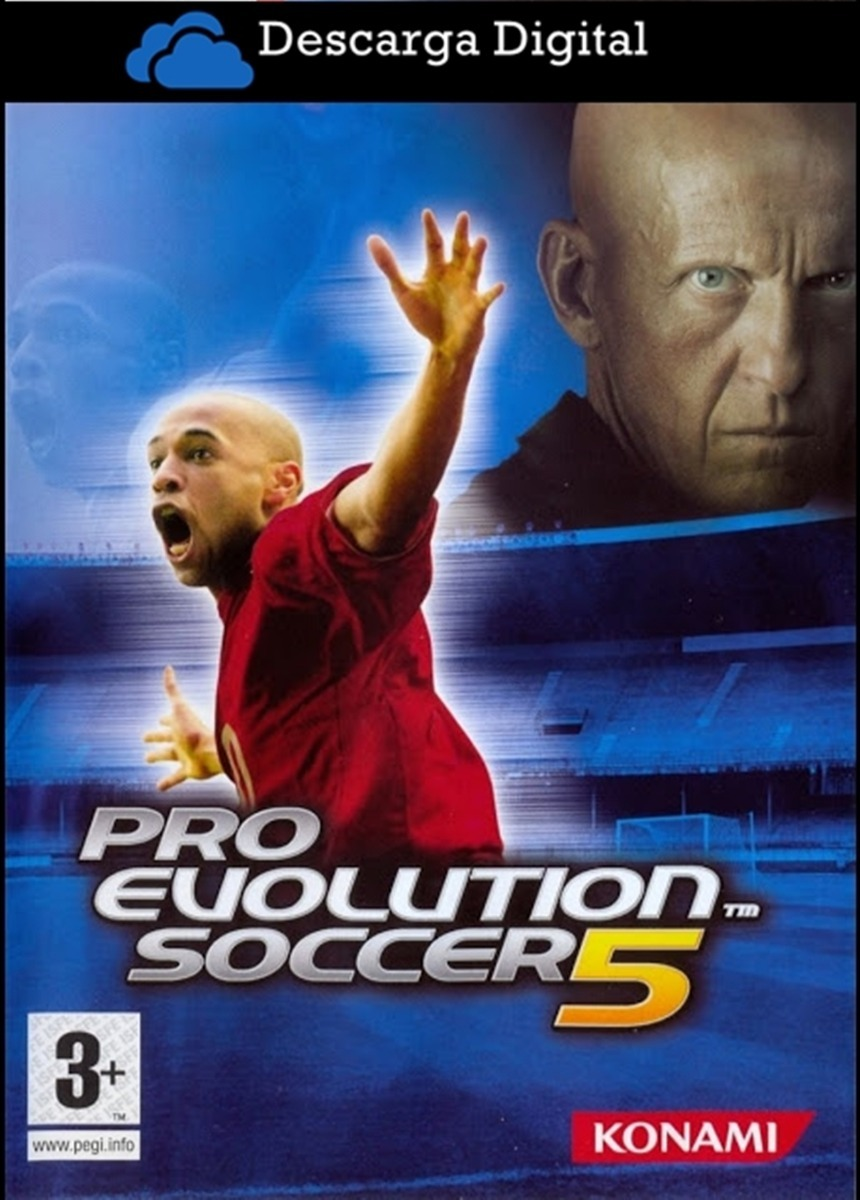 Pro Evolution Soccer 5 Pes 5 Juego Pc Digital - Entrega Ya!