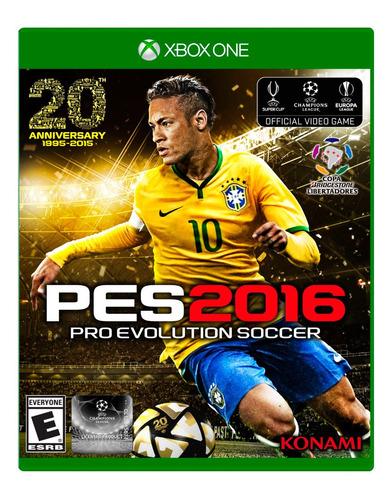 pro evolution soccer pes 2016 xbox one