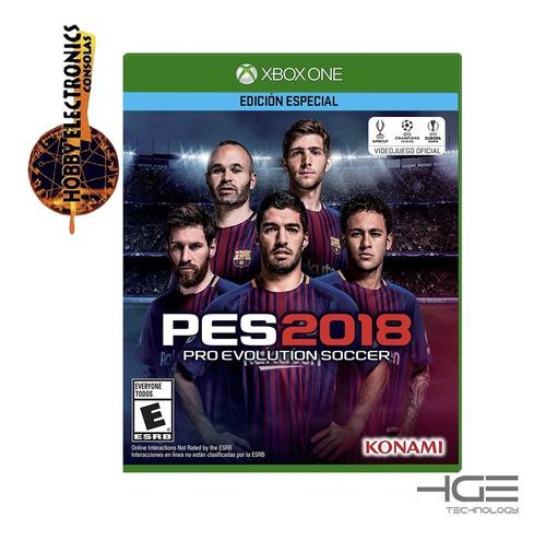 pro evolution soccer pes 2018 juego xbox one fisico