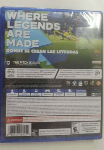 pro evolution soccer ps4