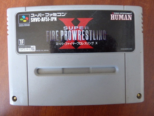 pro fire wrestling x super famicom zonagamz japon