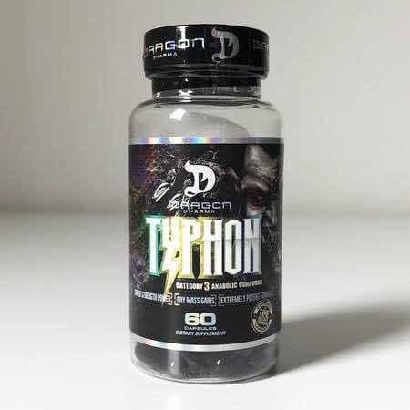 pro hormônio - thypon dragon pharma 60cap - original