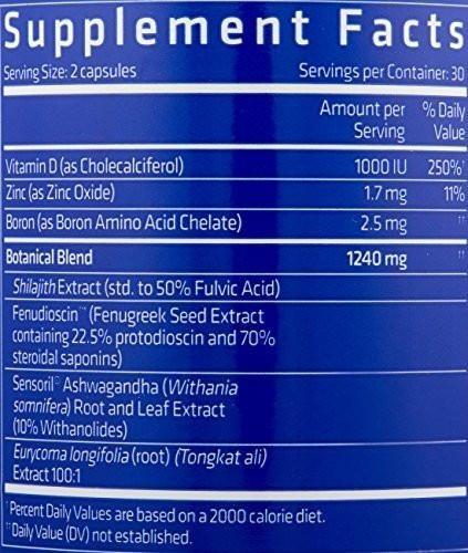 pro hormonal testo max 17 usn (60 cap)