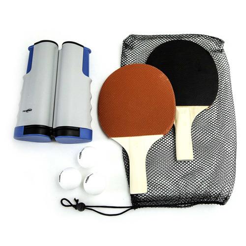 pro impact - juego de tenis de mesa con 2 palas, bolas, r