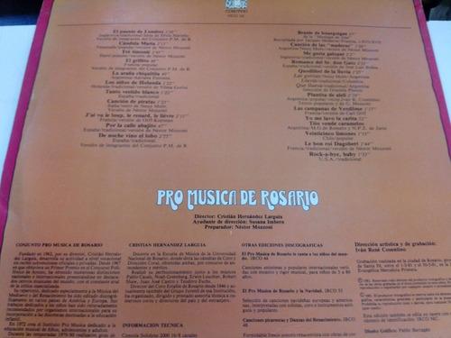 pro música de rosario lp cantemos con el             duncant