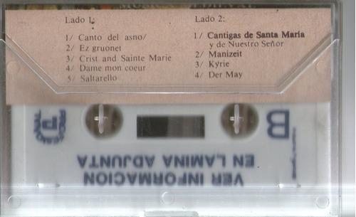 pro musica de rosario musica de la edad media varios