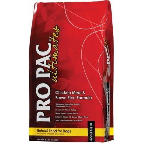 pro pac chicken meal & brown rice 2.5kg + despacho gratis*
