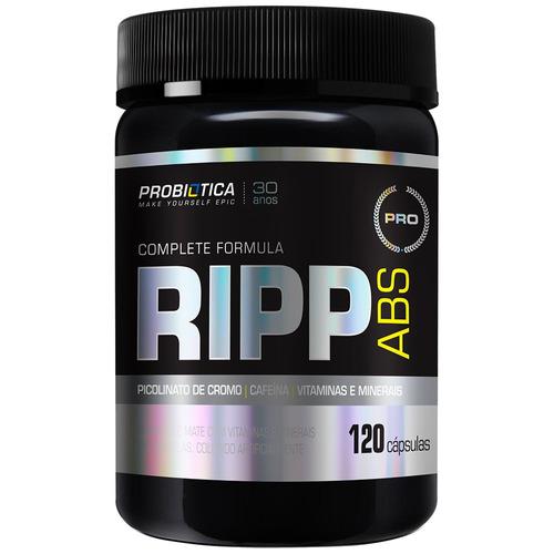 pro ripp abs - 120 cápsulas - probiótica