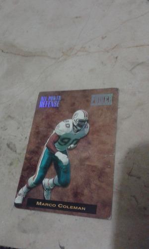 pro set all power defense 1993 4 tarjetas