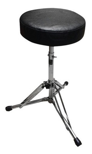 pro stands banqueta p/ baterista plegable regulable cromada