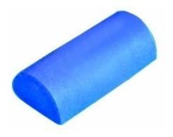 pro-tec foam roller atletismo-la mitad ronda (6-pulgadas de